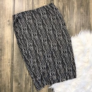 Vince Camuto | Pencil Skirt Black And White (O5)